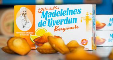 Les Véritables Madeleines de Liverdun - Boîte De 12 Véritables Madeleines De Liverdun Bergamote
