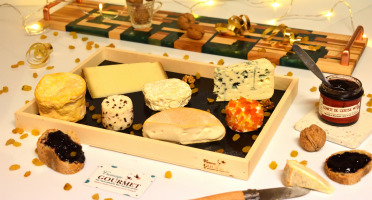 Fromage Gourmet - Plateau De Fromage Noël
