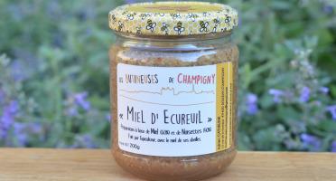 """Les Butineuses de Champigny - """"Miel d'écureuil""""  - 200g"""