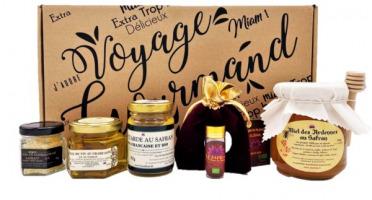 """Le safran - l'or rouge des Ardennes - 30 Coffrets """"Voyage Gourmand"""" Prestige"""