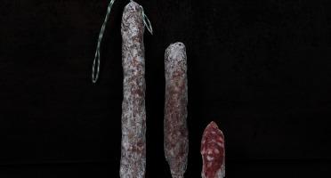 Charcuterie Louis OSPITAL - Txirula, Saucisse Sèche en Forme de Flûte