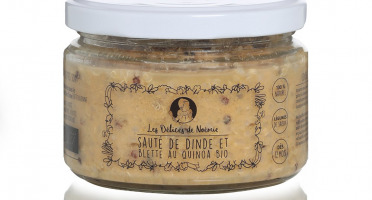 Les délices de Noémie - Petits Pots Bébé 12 mois: Lot de 3 Sauté de Dinde et Blette au Quinoa Bio