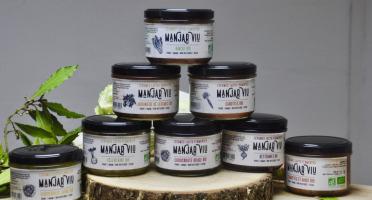 Manjar Viu : Légumes lacto fermentés - Lot de 10 pots de 220g de légumes Bio - lacto-fermentés