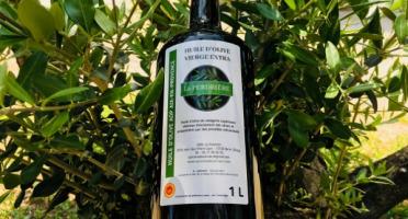 Spiruline des Oliviers - Huile D'olive Vierge Extra Aop Aix-en-Provence 1L