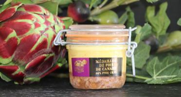 Fontalbat Mazars - Medaillon de foie de canard bocal 190 gr