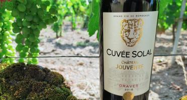 Château Jouvente - Château Jouvente Cuvée Solal AOC Graves Rouge 2016 - 6 Bouteilles