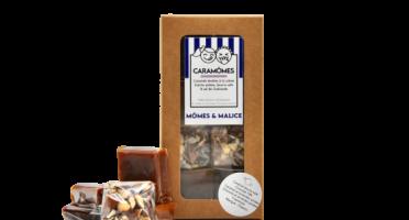 Mômes & Malice - Les Caramômes Assortis - Pavés Tendres Au Caramels (6 Saveurs)