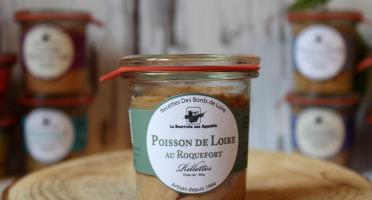 La Bourriche aux Appétits - Rillettes de Poisson de Loire au Roquefort