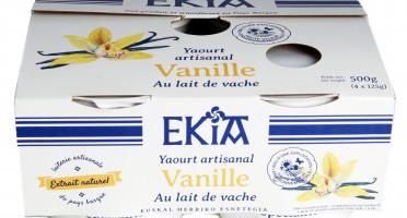 BASTIDARRA - Yaourt Vanille 4*125 gr