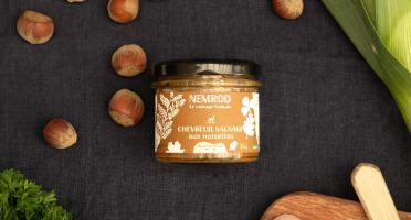 Nemrod - Terrine de Chevreuil aux Noisettes - 100 g