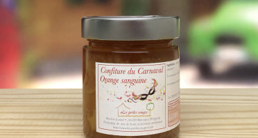 Les Perles Rouges - Confiture Du Carnaval (orange Sanguine)