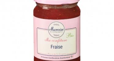 Muroise et Compagnie - Confiture de Fraise Bio - 350 gr