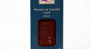 Maison Paris - Magret Fume Pretranche Issu De Canard Gras Fermier Label