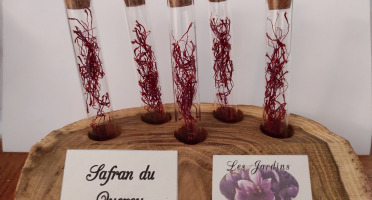 Les Jardins du Mas de Greil - Safran Du Quercy