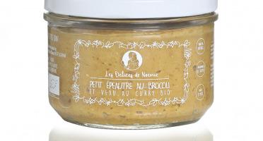Les délices de Noémie - Petits pots bébé 8 mois: Lot de 3 Petit épeautre au brocoli et veau au curry bio