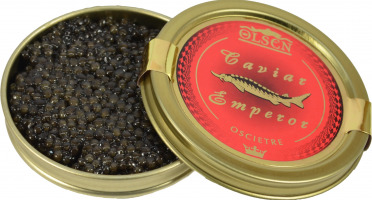 Olsen - Caviar Osciètre Classique 125g Origine Uruguay