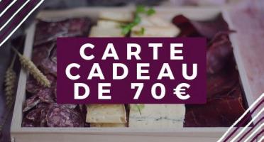 Pourdebon - Carte Cadeau 70 €
