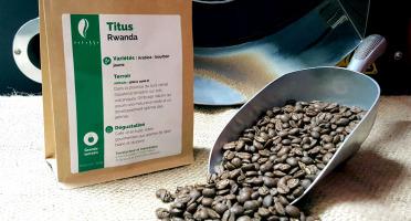 Brûlerie de Melun-Maison Anbassa - Café Titus-rwanda - Mouture Moyenne