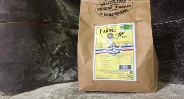 Moulins de Versailles - Farine De Blé Bio T65 - 5kg