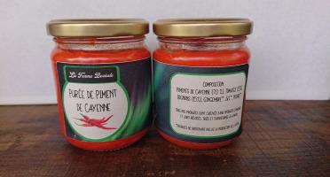 La Ferme Boréale - Purée de Piments de Cayenne