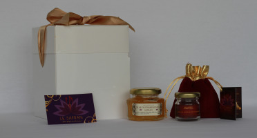 Le safran - l'or rouge des Ardennes - Coffret Duo Découverte
