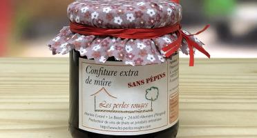 Les Perles Rouges - Confiture Extra De Mûre (sans Pépins)