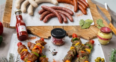 Nemrod - Colis Barbecue de Gibier - Mixte + condiments - 6 pers