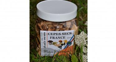Trapon Champignons - Cèpes Secs - 150 G