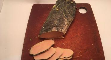 Des Poules et des Vignes à Bourgueil - Foie Gras de Canard Mi-cuit aux Épices