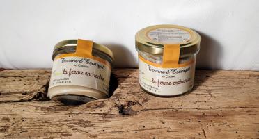 La Ferme Enchantée - Terrine d'Escargots au Cognac - 90 gr