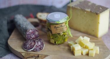 Ferme Chambon - Assortiment Apéro Comté AOP Fruité + Saucisson de boeuf + Apéri'fermier