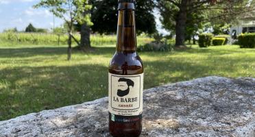 """Vignobles Fabien Castaing - Bière Artisanale Ambrée """"La Barbe"""" Haute Fermentation - 12x33cl"""