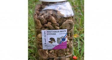 Trapon Champignons - Shiitakes Secs - 500 G - Entiers