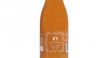 Les délices de Noémie - Lot de 6 bouteilles de Jus de Pomme Pêche Bio pour bébé