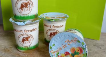 Ferme Chambon - Yaourts Au Lait Cru Et Aux Fruits (fruits Du Verger) X4