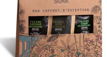Epices Max Daumin - Coffret Poivres - De Terroir Et Sauvages (poivre Madagascar , Poivre Voatsiperifery, Poivre Timur)
