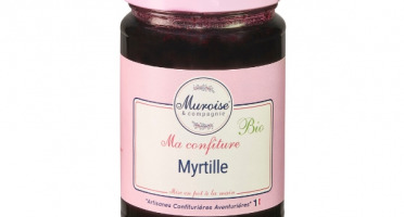 Muroise et Compagnie - Confiture de Myrtille Bio - 350 gr