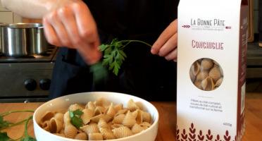La bonne pâte de Beauce - Conchiglie au blé complet