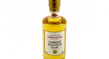 Domaine des Terres Rouges - Vinaigre Balsamique Blanc 4 Ans 25cl