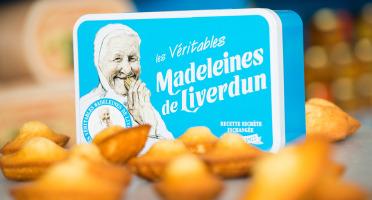 Les Véritables Madeleines de Liverdun - Boîte Métal Collector - 12 Véritables Madeleines De Liverdun