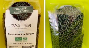 Spiruline des Oliviers - Pâtes Bio À La Spiruline