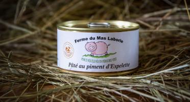 La Ferme du Mas Laborie - Pâté au piment d'Espelette - 180 g