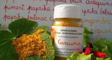 HERBA HUMANA - Curcuma Bio Cultivé en France 25 g