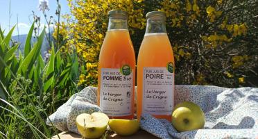Le Verger de Crigne - Lot Découverte Pur Jus Artisanaux Bio : 3 Jus De Pommes Et 3 Jus De Poires - 6x 1l