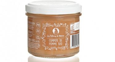 Les délices de Noémie - Lot de 6 Compotes de Pomme Bio pour Bébé dès 4 mois
