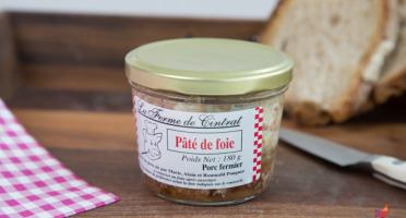 La Ferme de Cintrat - Pâté de foie de porc en bocal