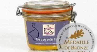 Maison Paris - Foie Gras D'oie Entier Cuit En Bocal