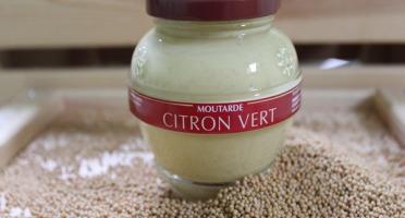 Domaine des Terres Rouges - Moutarde au Citron Vert 200 g
