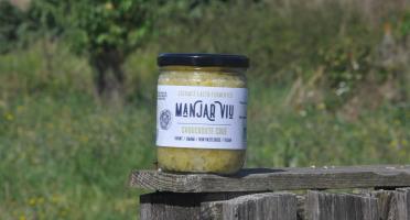 Manjar Viu : Légumes lacto fermentés - Choucroute crue bio - Lacto fermentée - 400 g