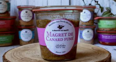 La Bourriche aux Appétits - Rillettes de Magret de Canard Fumé 200 G